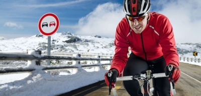 Winter training voor wielrenners